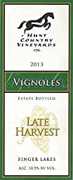 2013 Hunt Country Vineyards Late Harvest Vignoles Finger Lakes Estate Bottled 375mL White Wine