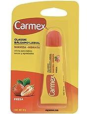 Carmex Bálsamo Labial, Tubo 10 g, Fresa