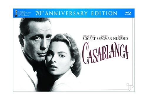 Blu-ray : Casablanca (70th Anniversary Edition) (Oversize Item Split, With Blu-Ray, With DVD, Remastered, Gift Set)