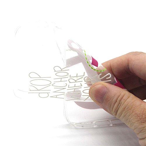 Transparent Coque pour Apple iphone 6 Plus/6s Plus 5.5'', Soft Souple Crystal TPU Shell étui Couverture arrière en Silicone pour iphone 6s Plus, Ekakashop iphone 6 Plus Flexible Gel Housse Back Case C