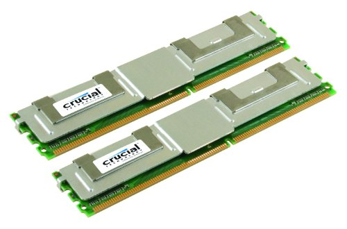 Crucial 2GB Kit (1GBx2) DDR2-667MHz (PC2-5300) Fully Buffered ECC FBDIMM Memory Upgrade CT2KIT12872AF667 / CT2CP12872AF667 (5300 Memory Desktop)