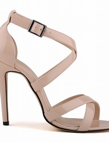 Evening Heels Shoes Women's amp; Stiletto ShangYi Wedding Leatherette Heel More Sandals Party Black Colors dvaXdnq6xw