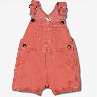 Denim 2T-4T Round House Toddler Bib Overalls