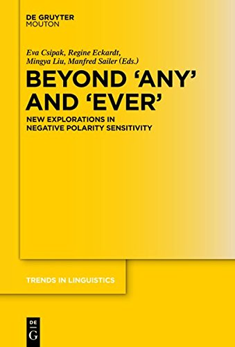 Beyond 'Any' and 'Ever' (Trends in Linguistics. Studies and Monographs)