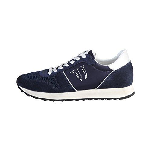 Trussardi Gris Homme Bleu 77s06449 Jeans Baskets rtIBwxYrq