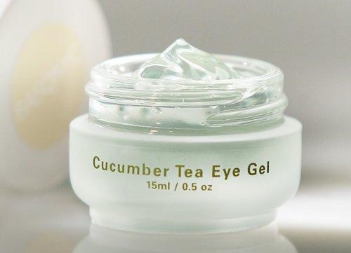 Basq Cucumber Tea Eye Gel - 1/2oz