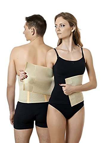 ®BeFit24 - (Size 7) Medical Abdominal Binder - Post Surgical & Postpartum Belt – Postnatal Belly Wrap – Abdomen Support Band - Made in Europe - 5 Year (Umbilical Bands Or Straps)