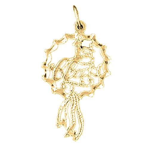 yellow-gold-plated-silver-29mm-1st-class-saying-pendant-necklace