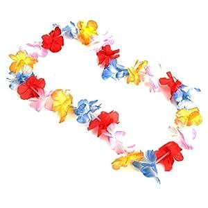Multicolor Flower Lei
