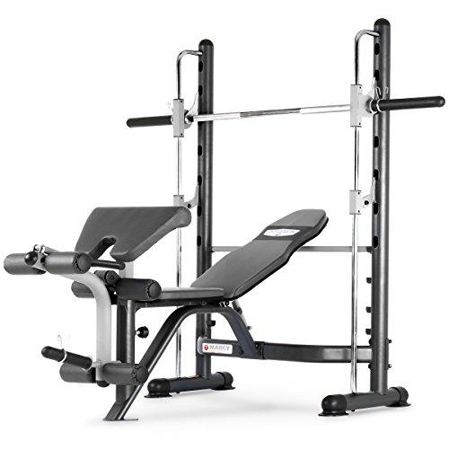 Marcy TSA-5762 Half Smith Machine and Weight Bench