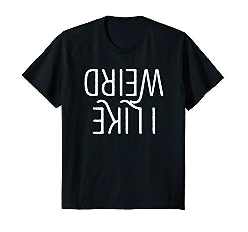 Kids I Like Weird Funny Emotional Goth Teens Emo Punk Kid T-Shirt 8 (Emo Kid T-shirt)