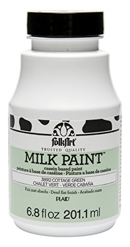 Paint Milk Green (FolkArt Milk Paint in Assorted Colors (6.8 oz), 38912 Cottage Green)