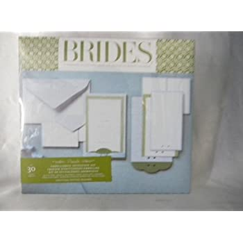 This Item Brides Magazine Wedding Invitation Kit