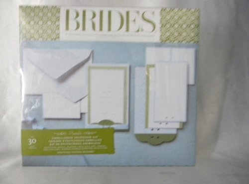 Brides Magazine Wedding Invitation Kit