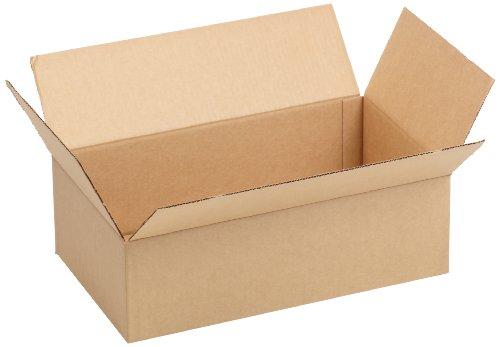 Aviditi 20126 Single-Wall Flat Corrugated Box, 20