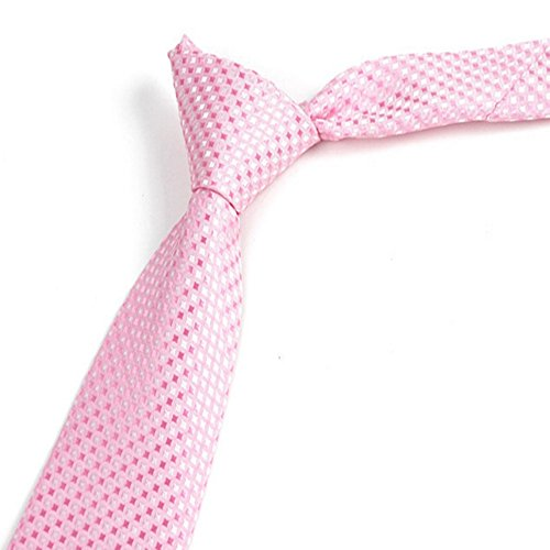 Tie fine tie tie small pink necktie wedding suit patterned casual tie fine tie tie small pink necktie wedding suit patterned casual decorative mens polyester classic business ccuart Images