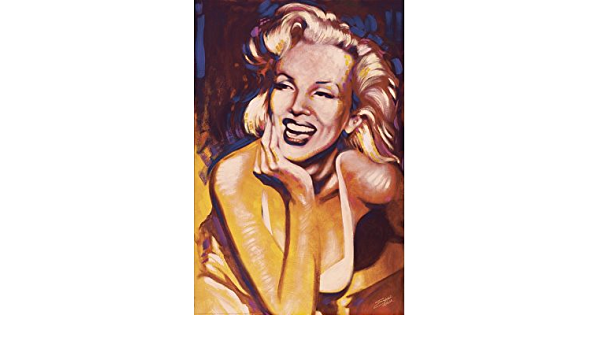 SMILE POSTER 24x36 MARILYN MONROE FISHWICK ART SF123