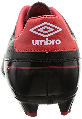 Umbro Classico Fg - Botas de Fútbol de material sintético hombre negro - Noir (137-Noir/Blanc/Rouge)