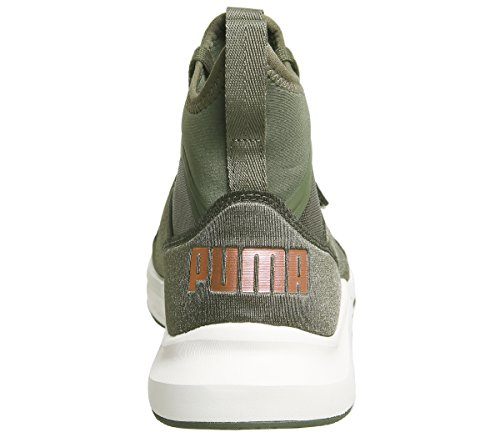Mode Femme Puma Phenom Baskets Vert aOqOYZw