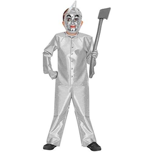 Kid's Classic Tin Man Costume (Size: Medium 8-10)