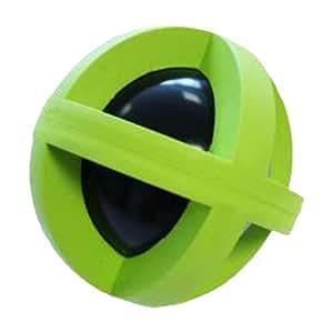 Más fuerte Durable perro juguete - rígida sonajero pelota de goma ...
