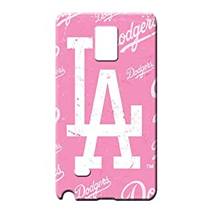 samsung note 4 case Awesome Back Covers Snap On Cases For phone phone carrying cover skin los angeles dodgers mlb baseball