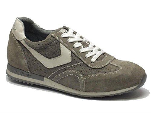 Nero Giardini scarpe modello sportivo per in camoscio