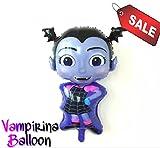 Vampirina Balloons Birthday party supplies 5 pack, decoration Halloween, Disney Princess Girl, USA Seller.