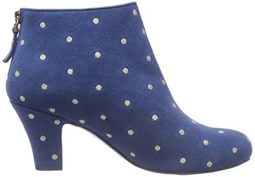 Bleu Blue Femme Bottines Ava 50 Ramona Lola 7OFZw