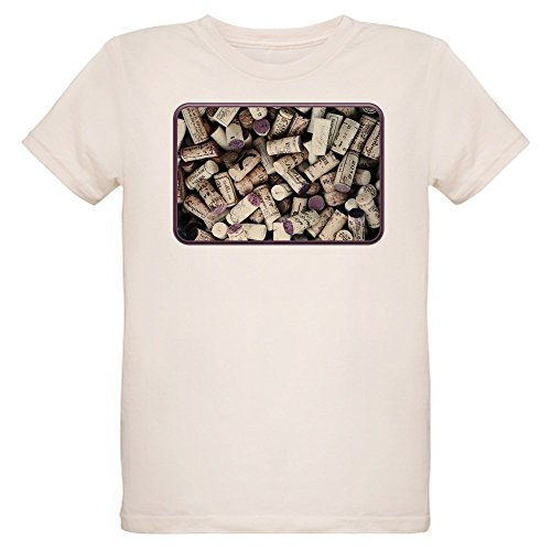 Truly Teague Organic Kids T-Shirt I love Wine Corks - Large (12 Yrs) (12 Years Shiraz Wine)