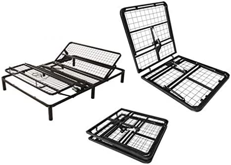 ProNova Plus Series Size Twin XL Adjustable Inclining Bed Frame Base with Wireless Remote Controle Back and Legs