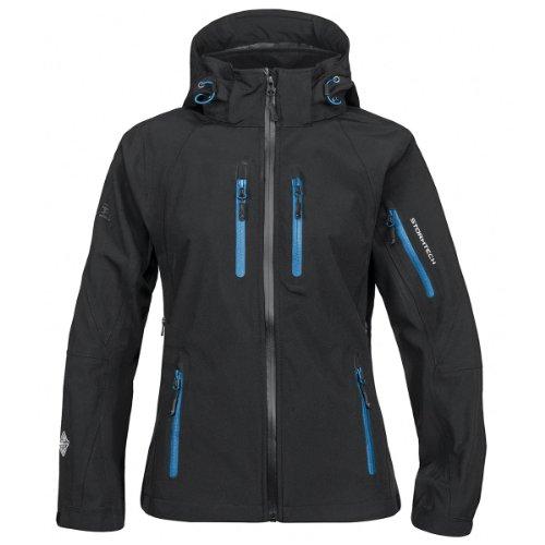 Stormtech Wasserdichte xb-2m Expedition Softshell Jacke schwarz/Methyl Blau XL
