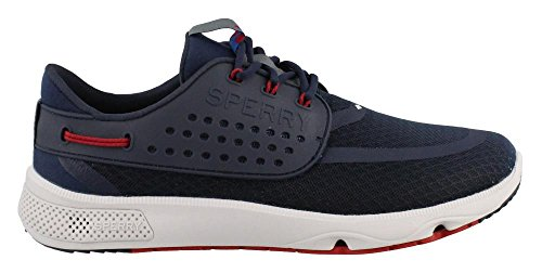 Red Seas Sider Men's Eye 7 Navy Top 3 Shoe Boating Sperry IfwxqCvx