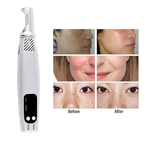 Spot Removal Picosecond Pen,Tattoo Scar Mole Freckle Removal Dark Spot Remover Beauty Blue -