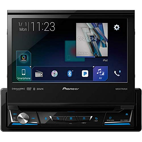 Pioneer AVH-3400NEX 7″ Display Single-Din in-Dash NEX DVD Receiver