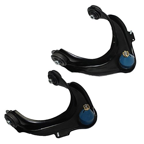 Detroit Axle - Both (2) Front Upper Driver & Passenger Side Control Arm and Ball Joint Assembly - 10-Year Warranty for 2001-2003 Acura CL - [1999-2003 Acura TL] - 1998-2002 Honda Accord Acura Cl Control Arm