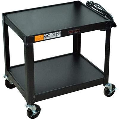 Luxor W26E Fixed Height Steel A/V Cart - 26' (Multimedia Cabinet Steel Welded)