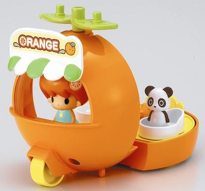 (Wagon of orange twig-chan (japan)