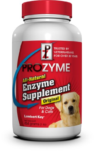 Lambert Kay Prozyme Original All-Natural Enzyme Supplement for Dogs and Cats, 454gm, My Pet Supplies