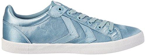 Court Femme hummel Deuce Basses Mehrfarbig Sneakers Satin BggUwxa5q