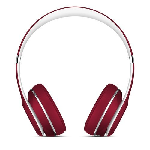 Beats Solo2 On-Ear Headphones Luxe Edition - Red (Certified Refurbished) by Beats