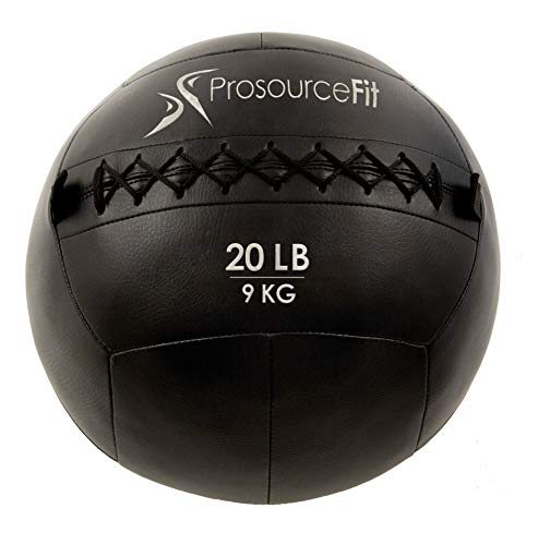ProsourceFit Soft Medicine Balls for Wall Balls and Full Body Dynamic Exercises, Color-Coded Weights_ 20 lb