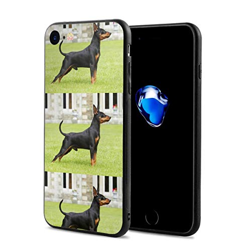 - iPhone 7 Case/iPhone 8 Case, Miniature Dog Canine Slim-Fit Ultra-Thin Shockproof Skid Proof Anti Fingerprint Lightweight Protective Case Compatible for iPhone 7/8