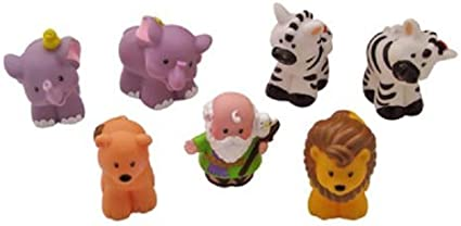 Fisher Price Little People Zoo Jungle Ark Replacement Animals Your Choice