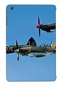 Flexible Tpu Back Case Cover For Ipad Mini/mini 2 - Supermarine Spitfire