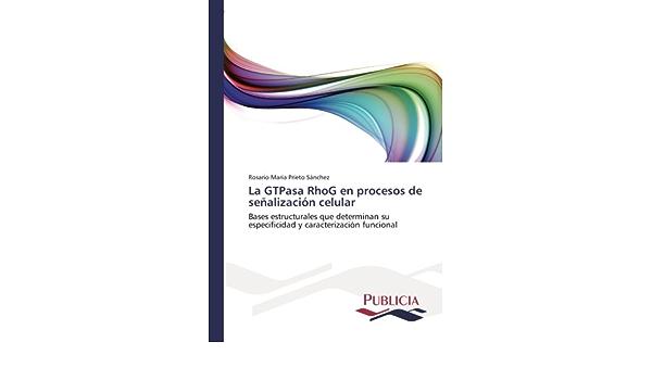 La GTPasa RhoG en procesos de señalización celular: Amazon.es ...