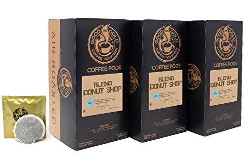 DONUT SHOP COFFEE POD - Good As Gold Coffee - (3 Pack Special = 54 Coffee Pods) ()