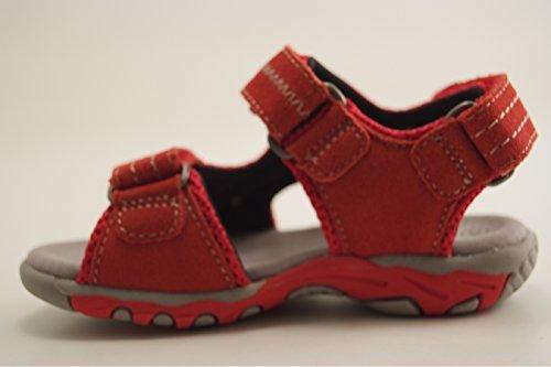Mod8 Bath - Sandalias con punta abierta Niñas Rot (Rouge)