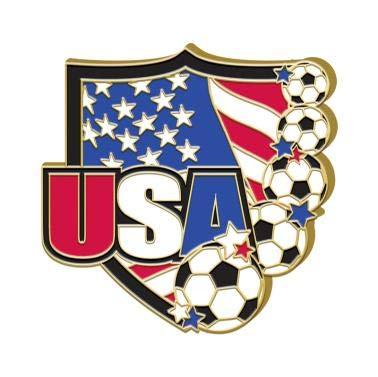 (Crown Awards Soccer Pin - 1.25