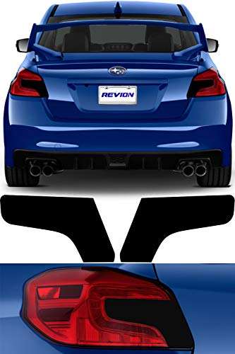 Tail Light Tint Kit compatible with 2015-2019 Subaru WRX/STI Tinted  Taillights